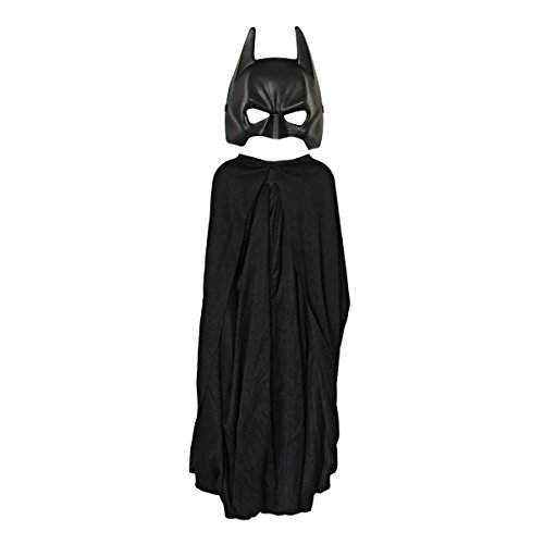 Rubie's-déguisement officiel - Batman -Costume 2 pièces Batman The Dark Knight Rises, cape et masque - Taille enfant- I-5482