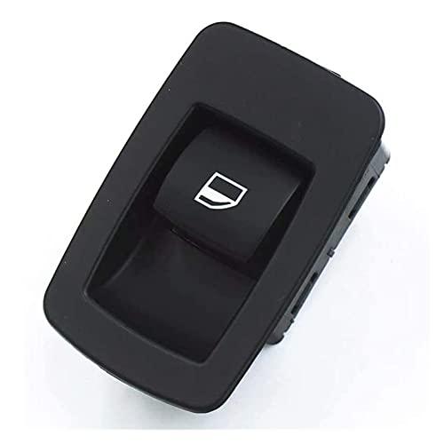 GIS Vestidor de Vidrio de automóvil Un Solo Interruptor de Encendido Interruptor de Control de la Ventana Ajuste para BMW 3 Series 61316945874 (Color : Black)