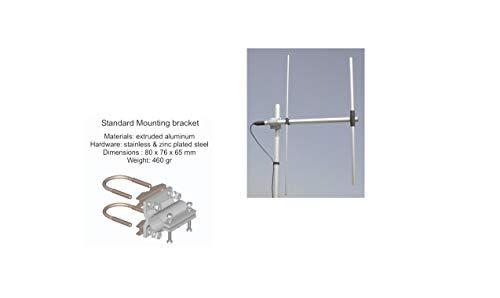 SIRIO WY155-2N Antena Directa 2 Elementos YAGI VHF 155-175 MHz No Necesita calibración