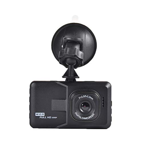 OOTD Front-Rear Dashcam, 1080p Full HD Super 170° Wide-Angle Camera For Cars SD Card Support GPS Screen Included Night Vision Motion Detection Loop Recording Parking Monitor Dual Car Sensor Dashcam