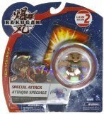 BAKUGAN Battle Brawlers Special Attack Season 2: G-Power Change Elfin (Subterra - Brown/Tan) - Not Randomly Picked, As Shown In The Picture! (C48P8) by