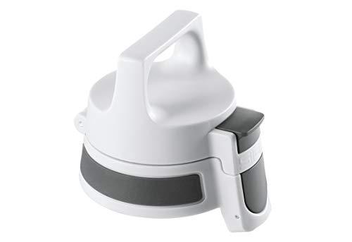 SIGG WMB ONE Top Anthracite (misura unica), Tappo di ricambio ideale per tutti i modelli di SIGG borraccia, Tappo ermetico e utilizzabile con una sola mano