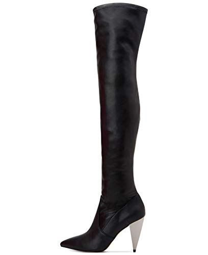 BCBGeneration Anela Spike Over-The-Knee Boot Black 6.5M