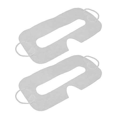 Einweg-VR-Abdeckungspad, 50 Stück, weiches Vliesstoff, Einweg-Hygiene-Abdeckpolster für Quest 2 VR-Zubehör