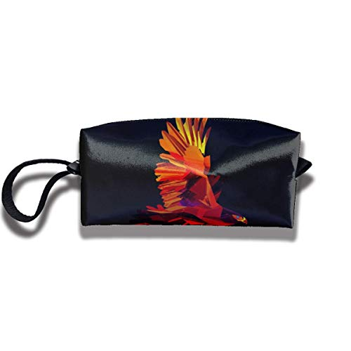 Sac à Crayons Portable Cosmetic Pouch Origami Animals Eagle Stationery Purse Storage Organizer