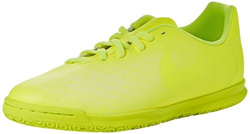 Nike Magistax Ola II IC, Scarpe da Calcio Unisex-Bambini, Giallo (Volt/Volt-Barely Volt-Electric Green), 36.5 EU