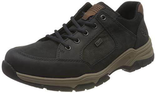 Rieker Herren B4310 Sneaker, Blau (Pazifik/Mare/Schwarz/Marron 16), 44 EU