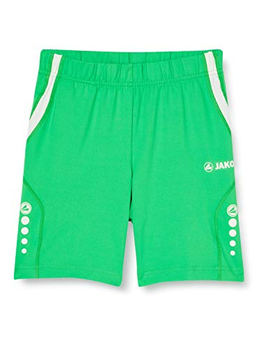 JAKO athlético Short Moulant XL Soft Green/Weiß