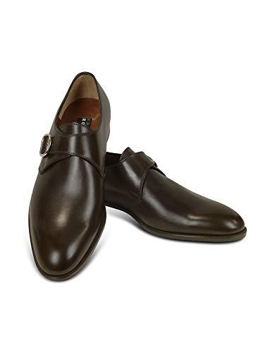Fratelli Rossetti Luxury Fashion Herren 2159288322 Braun Leder Monk-Schuhe   Jahreszeit Permanent