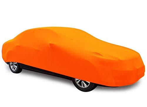YDS Shop interieurafdekking, op maat gemaakt, elastisch, voor voertuigkleding, geschikt voor wasmachines, huishoudelijke apparaten, oranje, auto