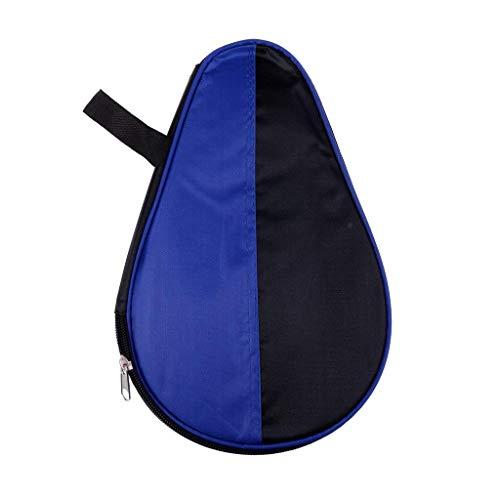 Przenośna torba na rakietę do tenisa stołowego z zamkiem błyskawicznym do rakietki do ping-ponga