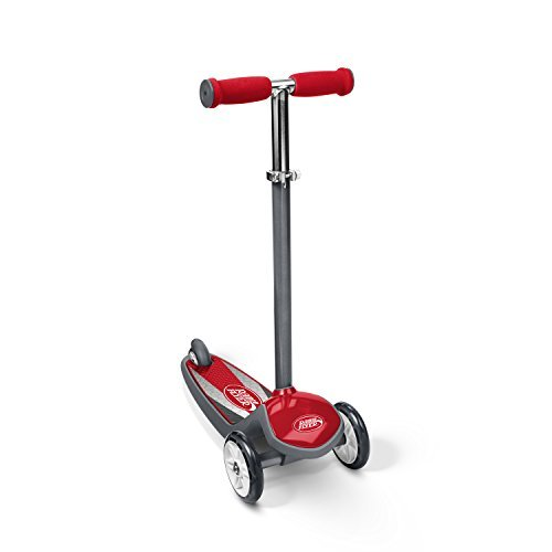 Radio Flyer Color FX EZ Glider 3 Wheel Scooter, Red (502A)