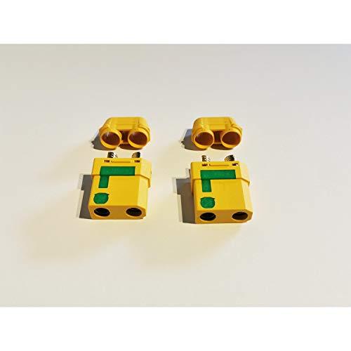 MR-Onlinehandel ® 2 Stück XT90-S Buchsen Goldkontakt Anti-Spark