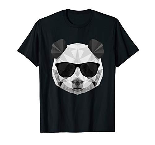 Panda Tshirt - Panda Polygonal Shirt