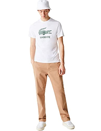 Lacoste TH0063 T-Shirt, Blanc, S Homme