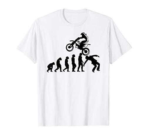 Motocicleta Pit-bike Dirtbike Motocross Evolución Pitbike Camiseta
