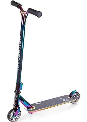 RAVEN Stunt/Freestyle Scooter, Roller, Tretroller, Cityroller Evolution Master 110mm (Neochrome)