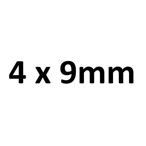 Manguera de aire Tubo de silicona espesado/manguera 4 6 8 10 16 20 20 Mangalla flexible de 28 mm de diámetro. (Color : 4x9 mm)