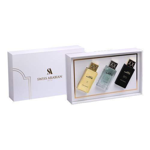 Swiss Arabian Shaghaf Gift Set 225ml Geschenkset/Parfumset / 3 verschiedene Parfums in einem Set/Weihnachtsset