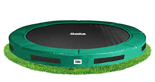 Salta Excellent Ground Trampolin - rund - Ø366cm - Grün