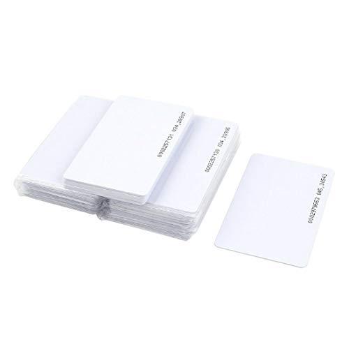 FONGWAH Tarjetas de proximidad 30x TK4100 ID 125KHZ compatibles con Tarjetas de EM4100 ID.