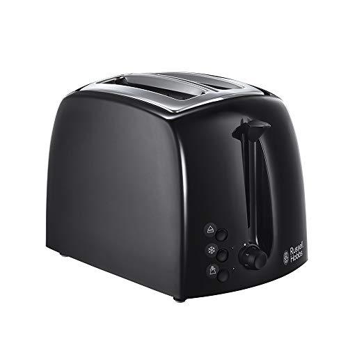 Russell Hobbs 21641 Textures 2-Slice Toaster, 700 - 850 W, Black