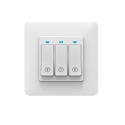 MOES WiFi Smart Rolladenschalter Tuya Smart Life App Fernbedienung Kompatibel mit Jalousien Schalter, Funktioniert mit Alexa und Google Home