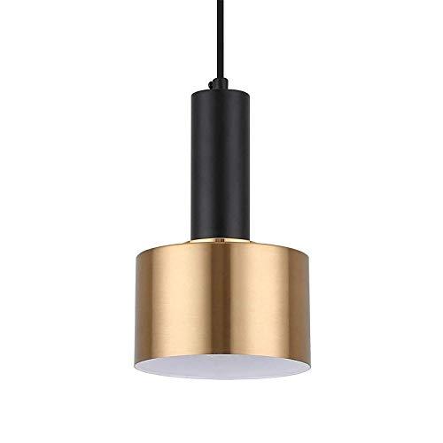 E27 Black Gold Iluminación industrial Iluminación Suspensión Suspensión Lámpara de suspensión Diseño moderno y contemporáneo Cocina Sala de estar Comedor