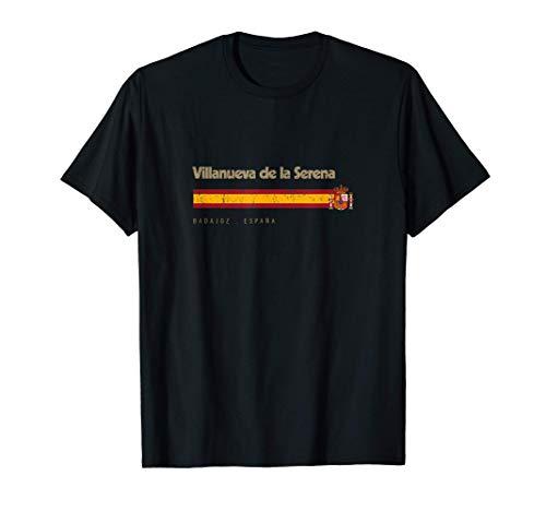 Villanueva de la Serena Ciudad Española Bandera España Camiseta