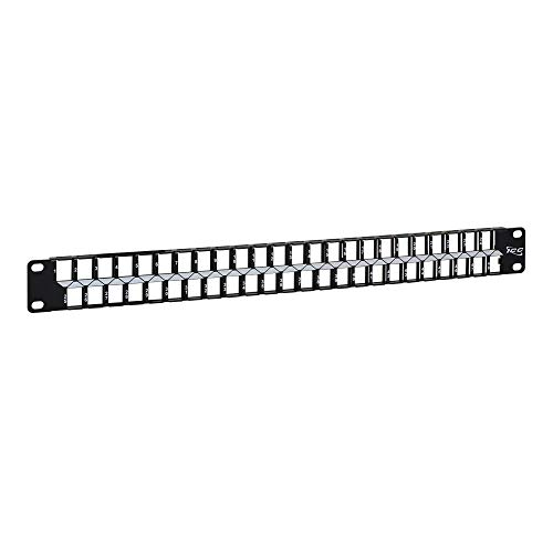 ICC Blank Patch Panel with 48 Ports for HD Style in 1 RMS