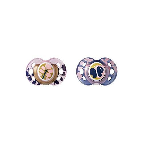 Tommee Tippee Moda Fopspeen Twin Pack: 18-36m (Butterfly), 200 g, TT-FED40