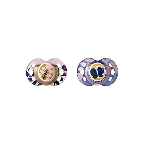Tommee Tippee Moda Ciuccio Twin Pack: 18-36 m (farfalla), 200 g