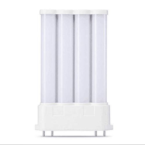 2G10 PL LED-Lampe, 4 Pin-Sockel, 10 W, 2G10, AC85-265 V, Farbtemperatur: 4000 K (Naturweiß)