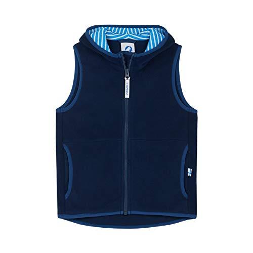 Finkid Poppeli Blau, Isolationsweste, Größe 100-110 - Farbe Navy - Denim