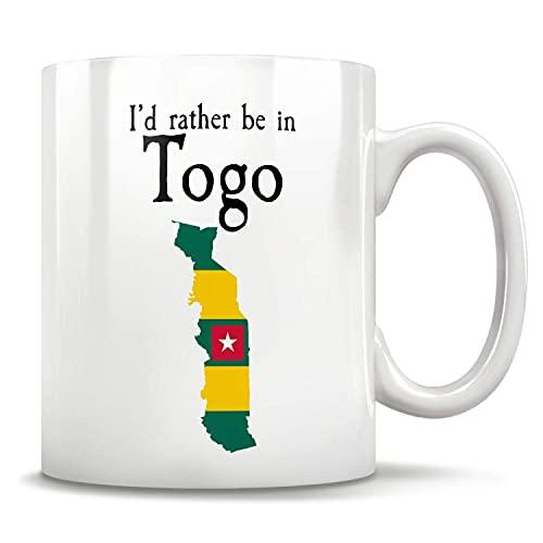 N\A Togo Flagge Lustige Kaffeetasse Kaffee Teetasse Einzigartige Klassische Keramiktassen mit Handgriff, Kaffeetasse für Büro & Zuhause