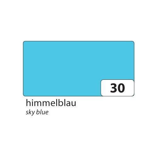 Folia 6430 - gekleurd papier hemelsblauw, DIN A4, 130 g/m², 100 vellen - voor het knutselen en creatief vormgeven van kaarten, vensterfoto's en voor scrapbooking