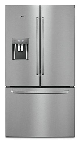 AEG RMB86321NX French-Door Kühlschrank / 1776 mm / Gefrierschublade unten / Wasserspender / 536 L / Fresh-Box-Schublade / TwinTech – länger frisch / NoFrost