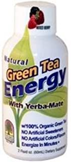 Natures Answer B82001 Natures Answer Green Tea Energy With Yerba Mate Mixed Berry -12x2oz