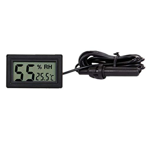 LCD Digital Mini Eingebettetes Thermometer Hygrometer Temperatur-Und Feuchtigkeitsmessgerät Sonde für Reptil