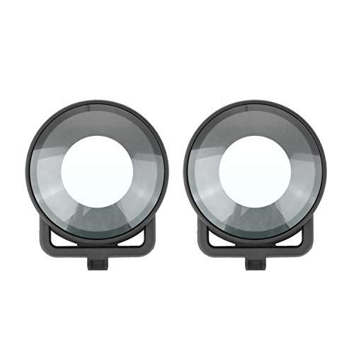 Tapa Protectora de la Lente para Insta360 One R Mod Dual Lens Panoramic 360 Edition Camera Dual Glass Lens Protectors Accesorios