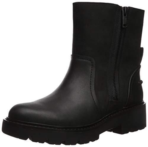 UGG Female Polk Boot, Black, 8 (UK)