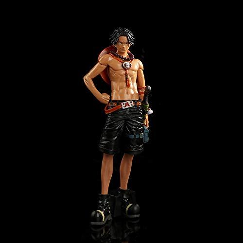 Anime One Piece Ace Figur, One Piece Anime MSP PVC Modell Spielzeug, 28 cm
