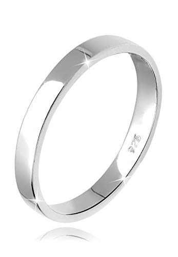 Elli Ring Damen Basic Verlobung in 925 Sterling Silber
