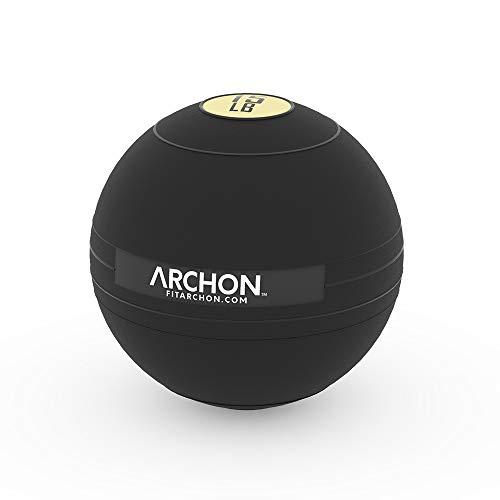ARCHON Training Slam Ball 15 LB | No Bounce Exercise Ball | Gym Equipment Accessories | Plyometric Exercise | Cardio | Jam Ball | Squats | Medicine Ball 15 LBS