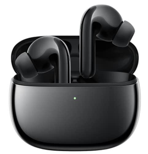 Xiaomi Flipbuds Pro Auriculares Inalámbricos Bluetooth 5.2 40dB Reducción Activa de Ruido Negro(Versión Global)