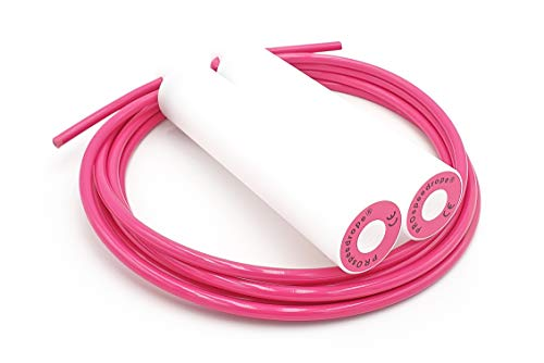 PROspeedrope® Springseil PINK Damen Fitness Jump Rope Verstellbare Griffe Crossfit Boxen Training Fitnes Profi Sport