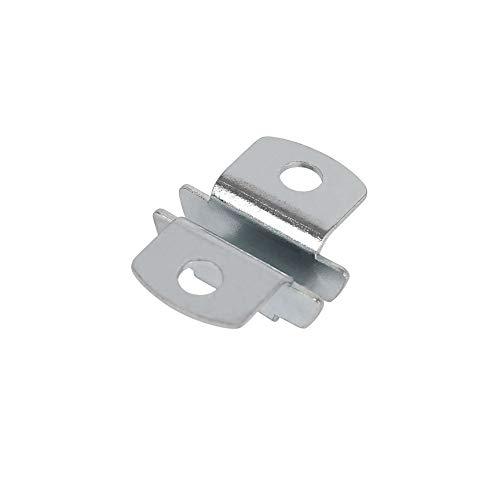 Toolerando Support d'insertion pour console d'étagere, 12 pièces, Taquets 2 cotés pour console...