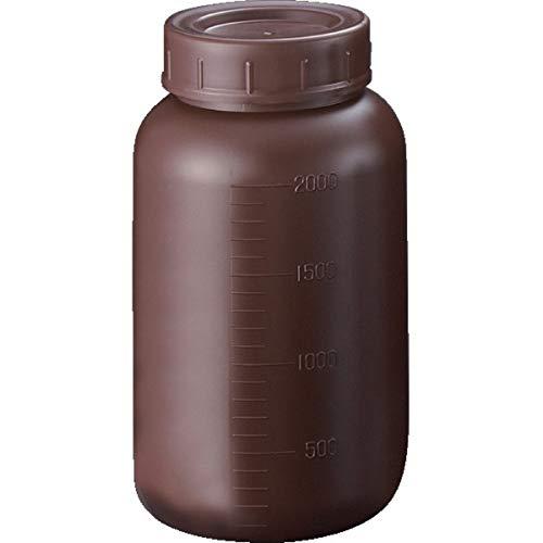 サンプラ PE広口遮光瓶 2L 2914