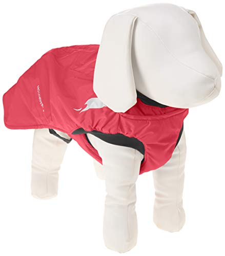 Hurtta Summit Parka Dog Winter Coat, Cherry, 20 in