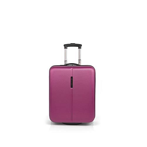 Gabol - Paradise | Maleta de Cabina Rigida de 38 x 53 x 20 cm con Capacidad para 33 L de Color Fucsia